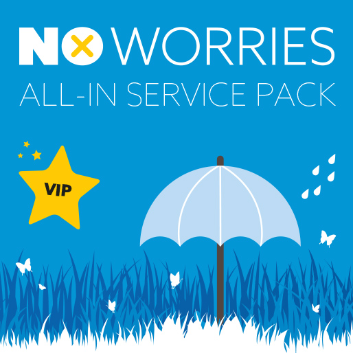 No Worries All-in Service Pack
