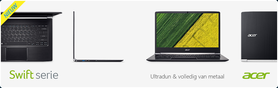 "Acer Swift-serie - dunste 13,3""-notebook ooit"