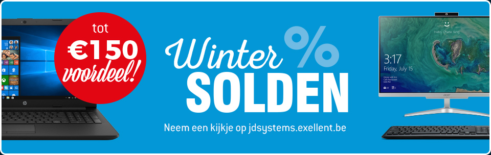 Winter solden bij JD Systems