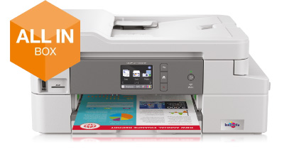 Brother DCP-J1100DW Compacte 4-in-1 kleuren inkjet printer