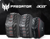 Acer Predator Gaming notebooks